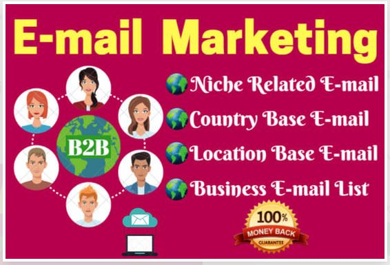I will collect niche targeted email list