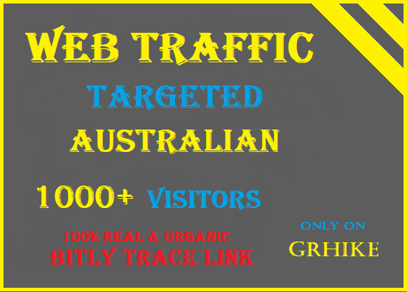 Drive safe organic Australia Traffic to your website