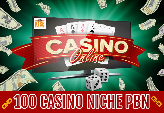 100 Niche CASINO, POKER, GAMBLING Permanent PBN Backlinks Skyrocket SEO