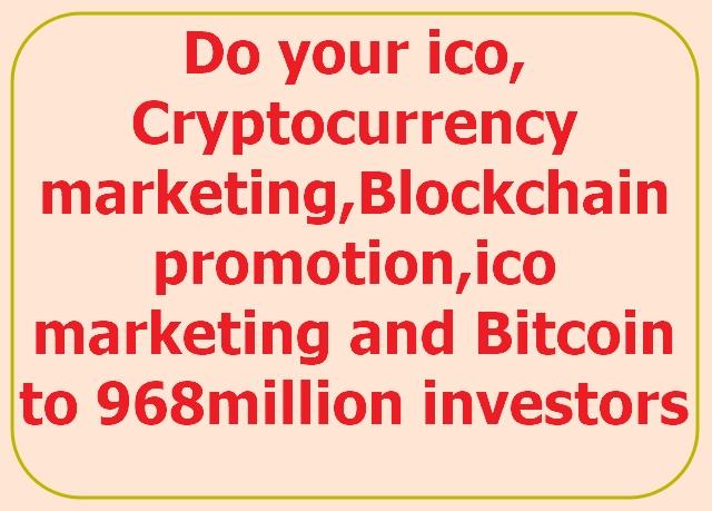 market,  promote your ico,  crypto,  airdrop,  token to ico investors on telegram