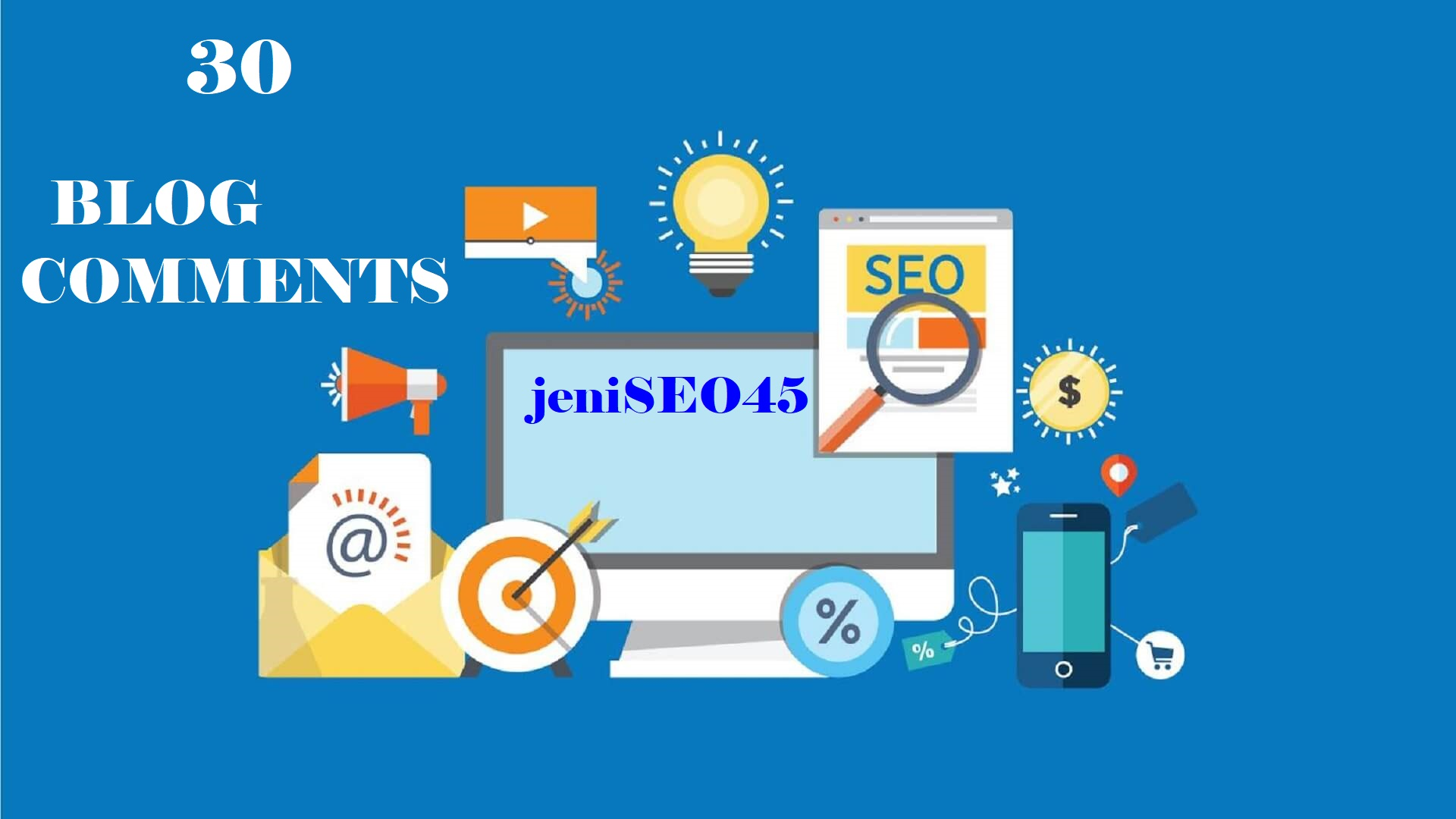 Provide 30 Manual do follow blog comments high pa da backlinks