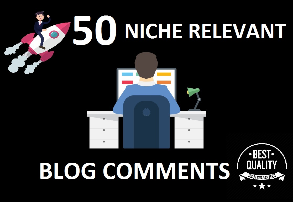 i will create 50 niche relevant blog comments
