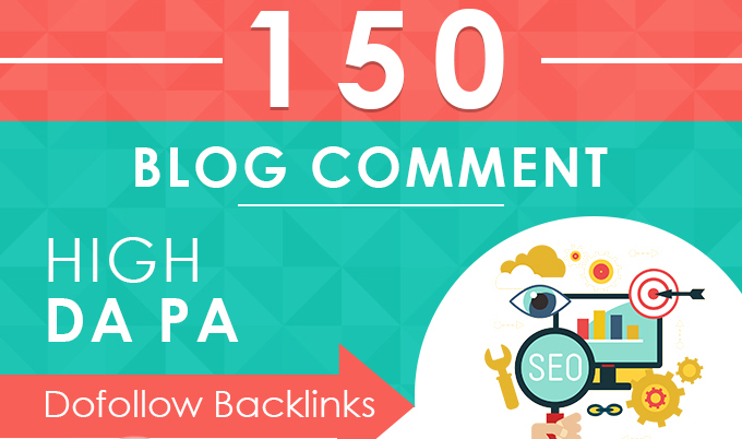 I will provide 150 unqiue domain blog comment backlink