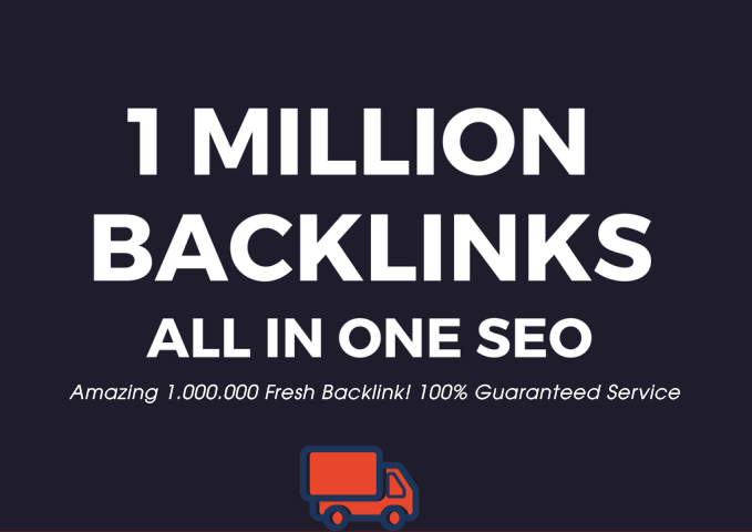 I Will Create 1 Million Super Backlink Fresh Dofollow Mix Nofollow - All in One SEO