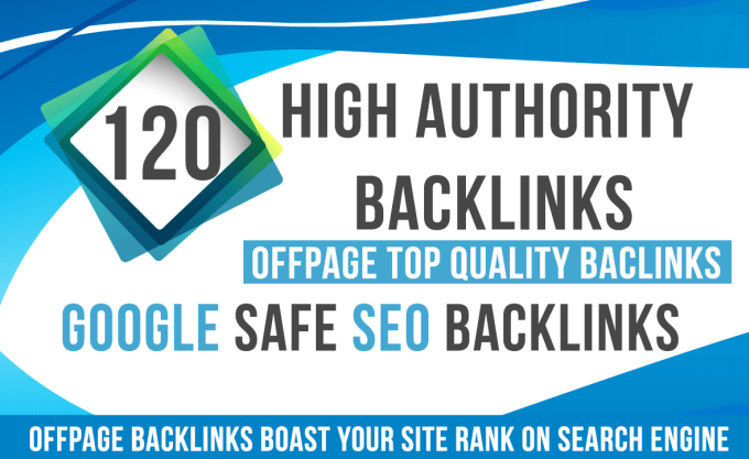 120 Super Profile BackLinks From High Authority Sites DA 70