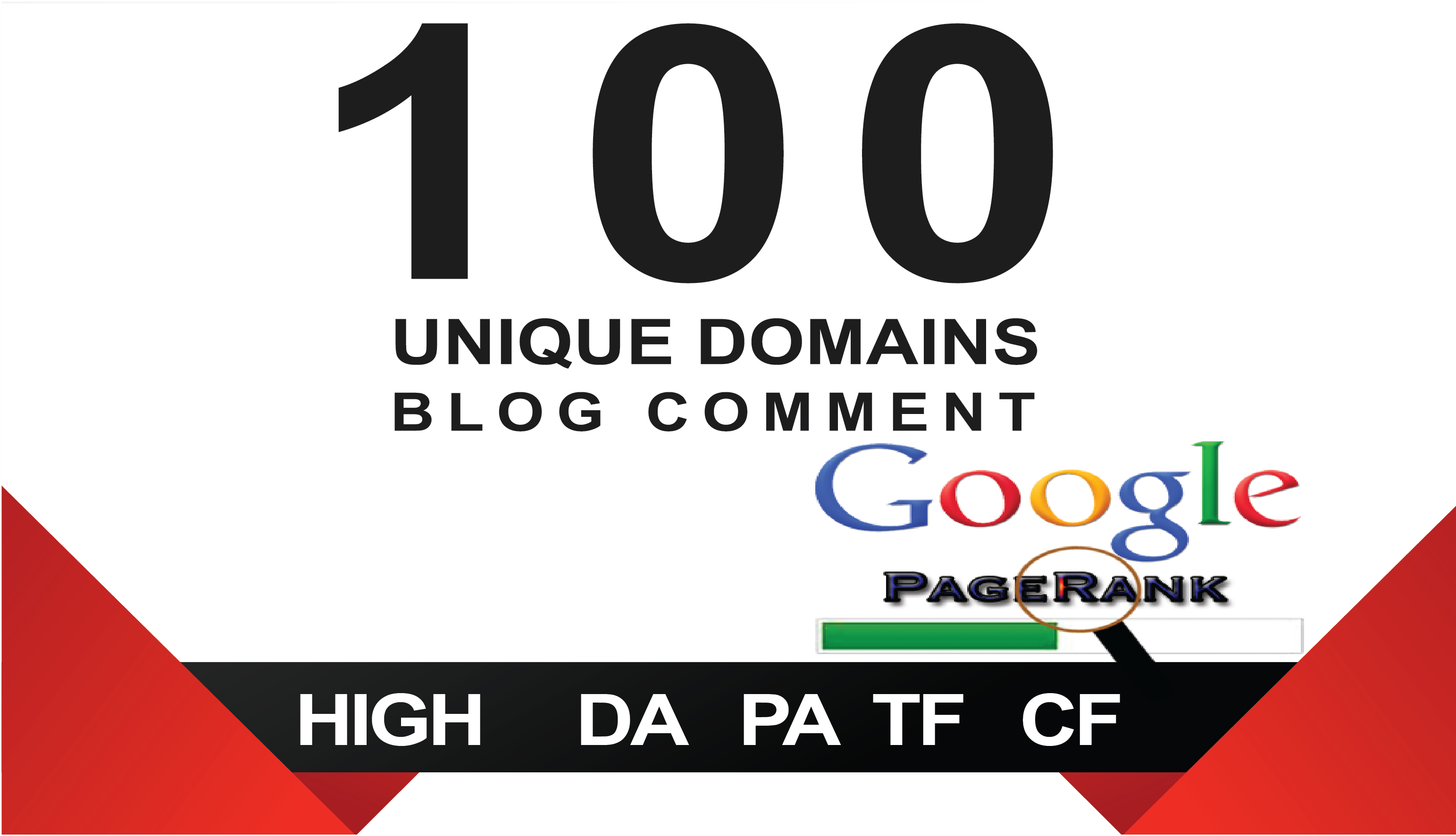 I will 100 Unique Domain Blog Comment Backlinks High DA. PA