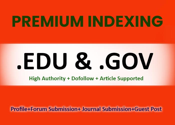 Quality 200 EDU/GOV High Authority Do-follow Backlinks