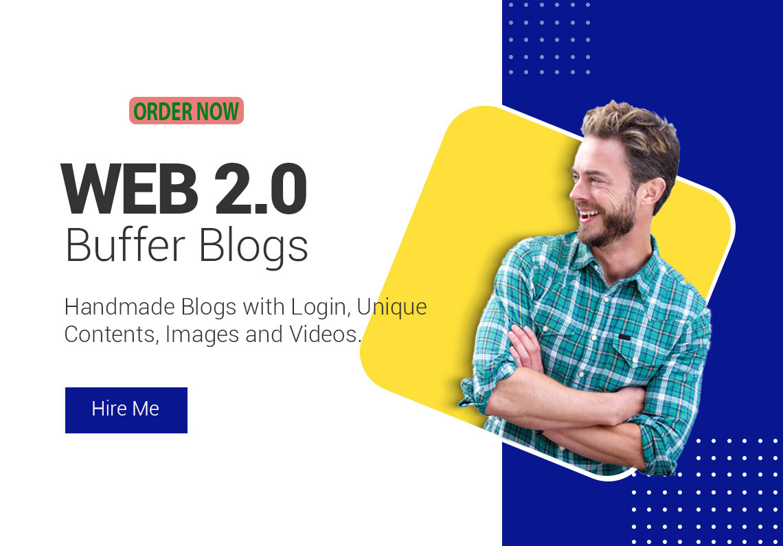 Handmade 10 Web 2.0 Buffer Blogs With Login Details