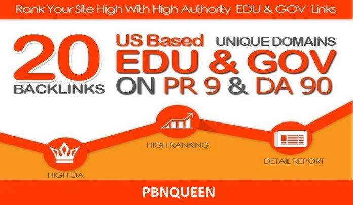 I will create 250 edu, gov backlinks