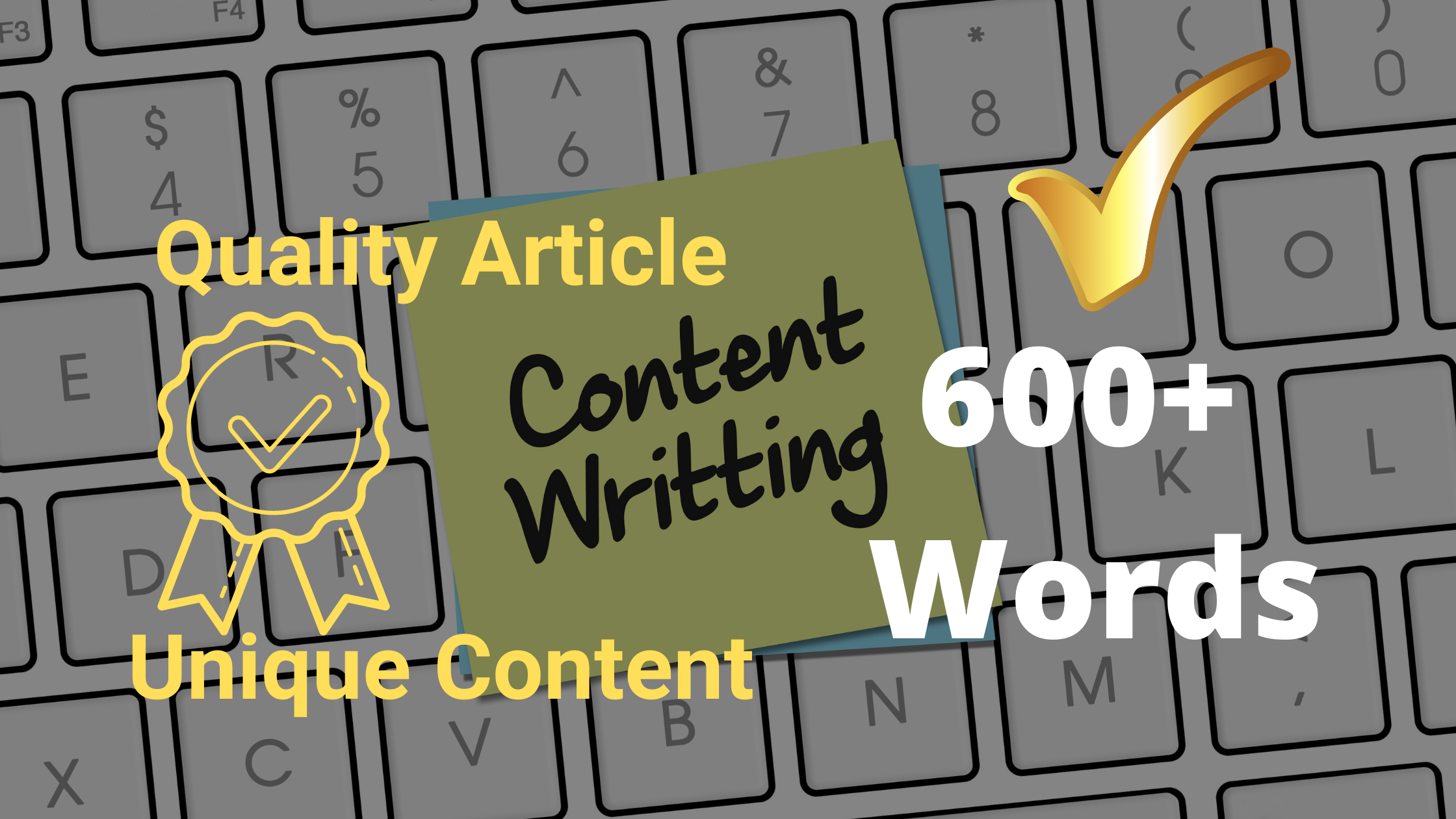 I will write 600+ words unique and best quality article for you