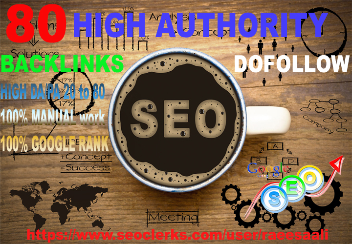 provide high authority SEO dofollow manual backlinks
