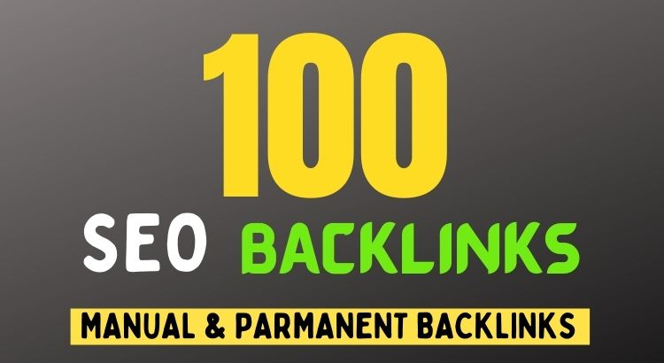 I will do 100 high authority manual white hat SEO backlinks building for top ranking