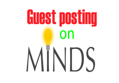 I will write and publish guest post backlinks on Minds. com or Minds