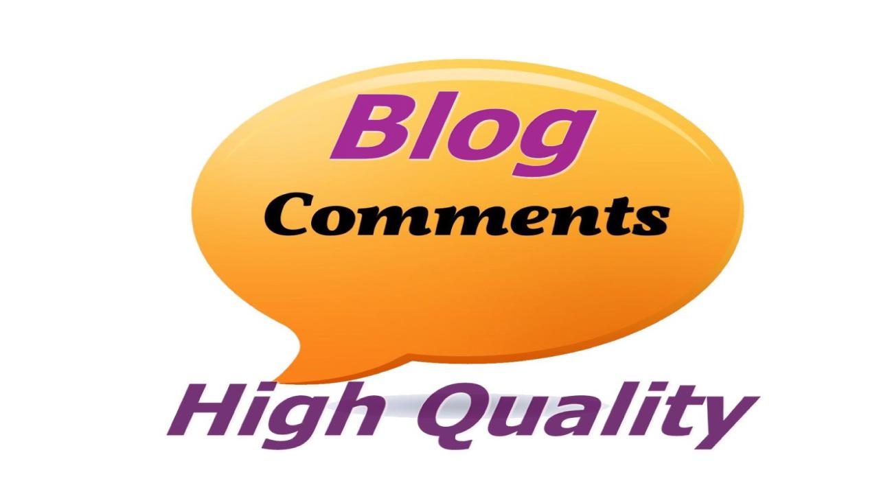 I will create 100 blog comments backlinks on high DA websites