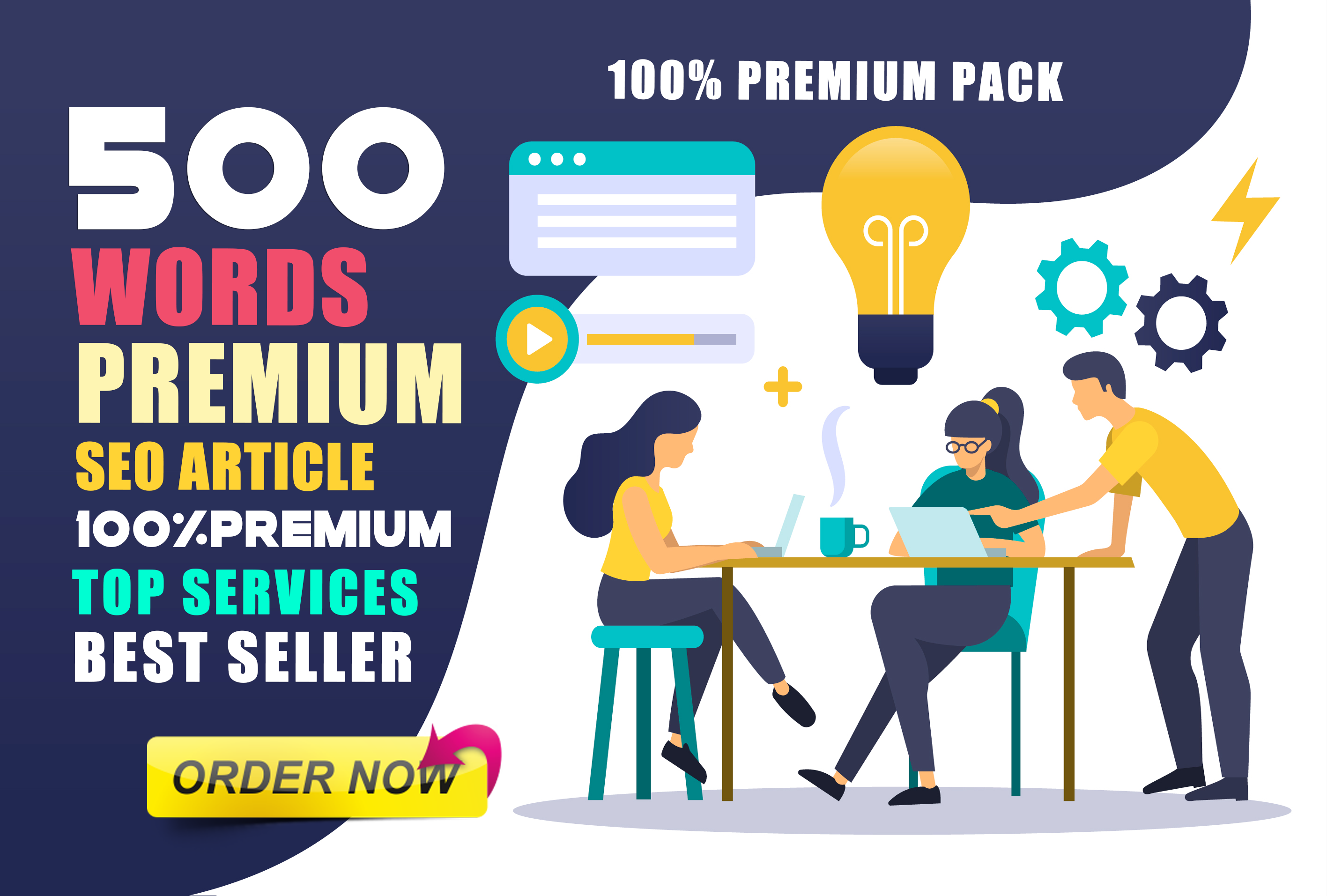 Write a Professional,  Effective 500 Word SEO Article On Any Topic