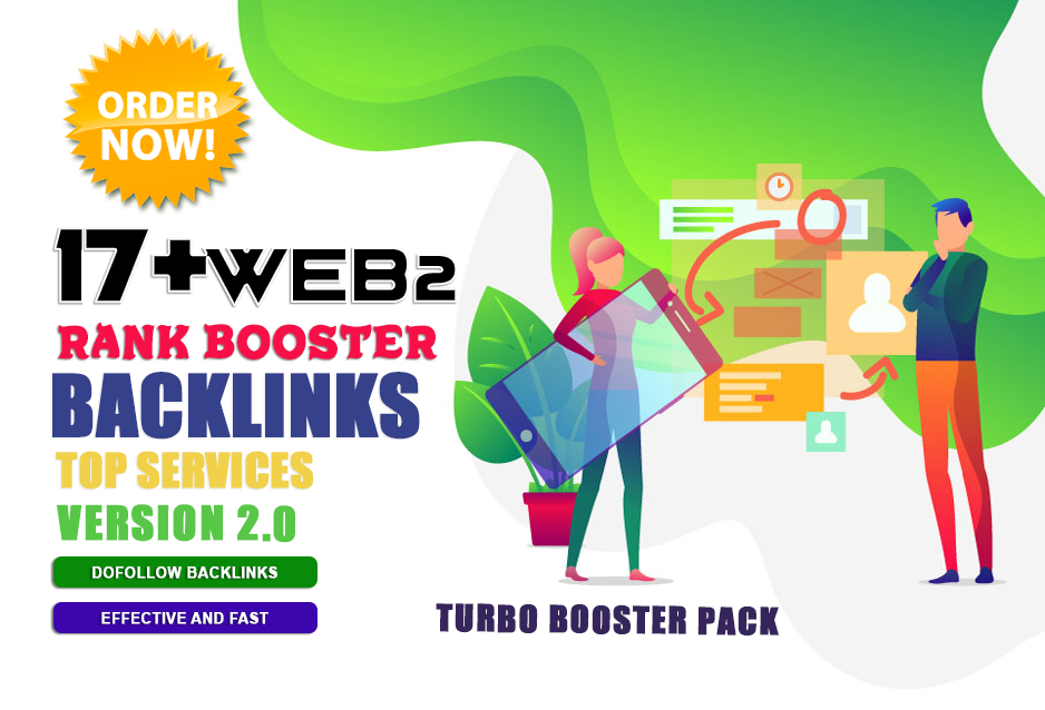 Limited Time- 17 Alpha Web 2.0 Backlinks with 10 Social Share