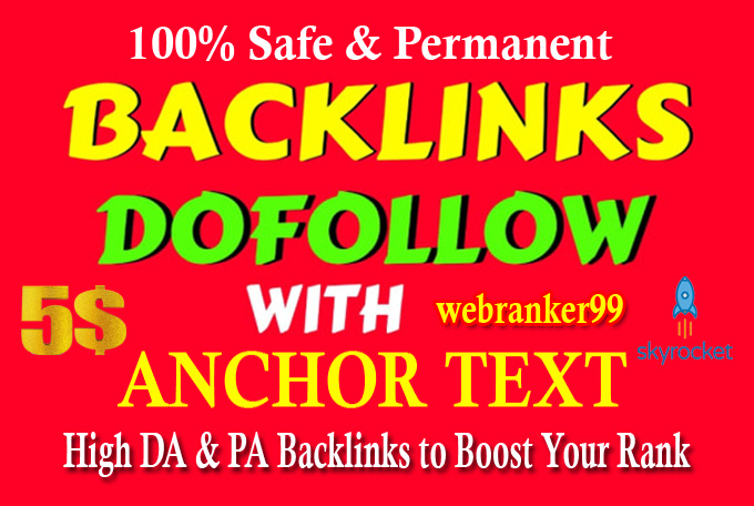 I will Manually Create 50 Dofollow High Da Pr9 100 to 40 SEO Profile Backlinks,  link building