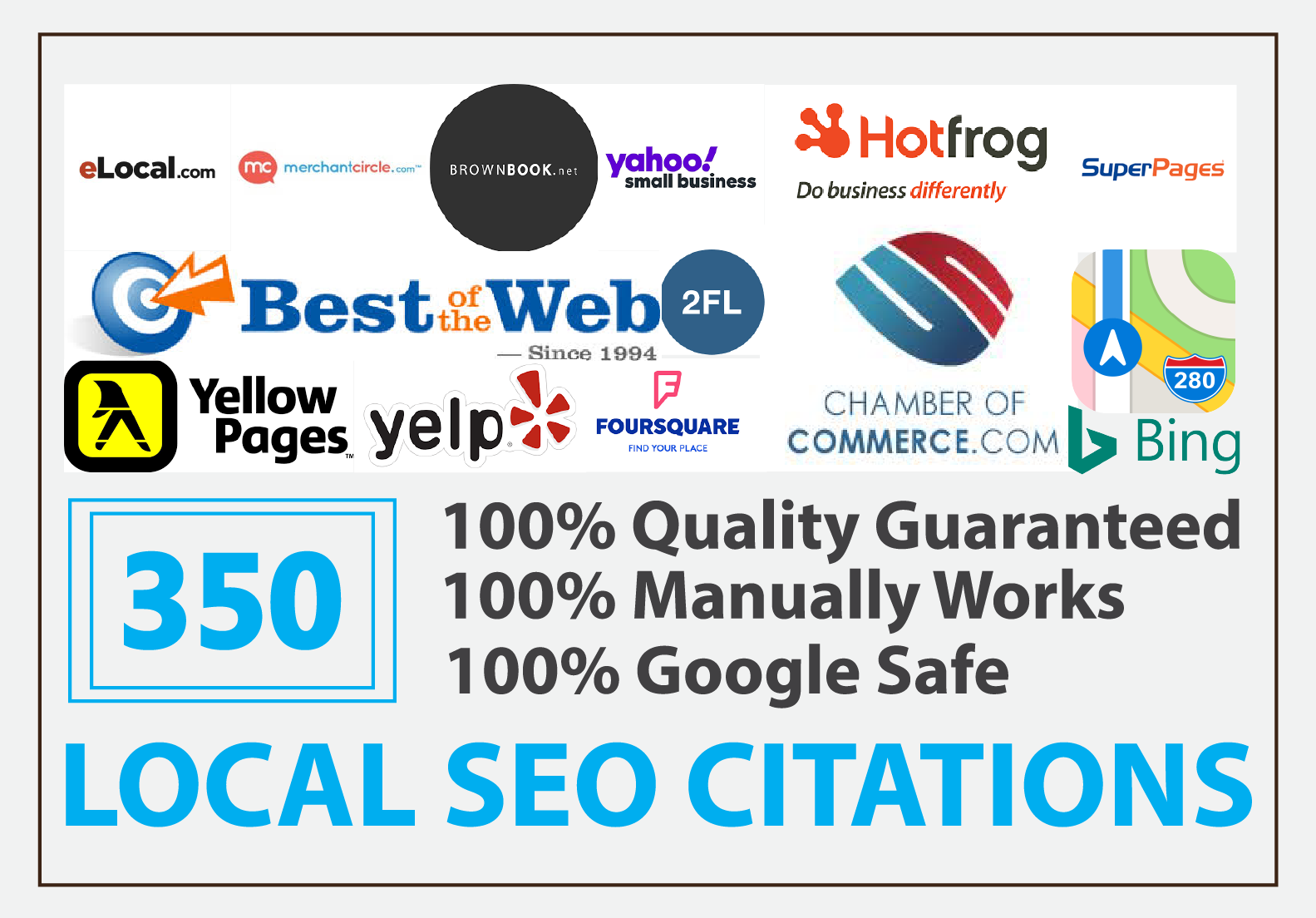 Manually Do 350 Top Local Citations For USA Boost Google My Business