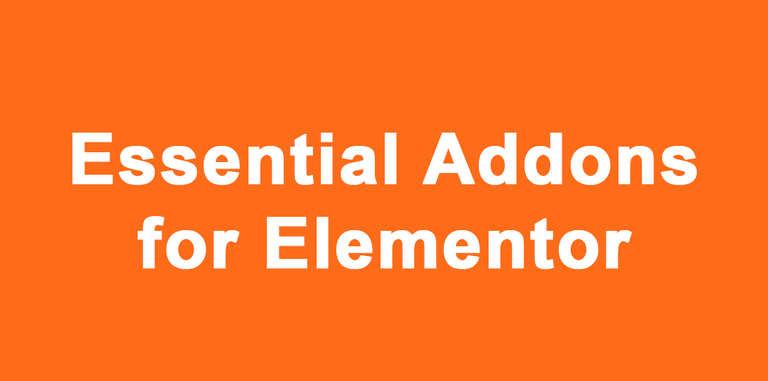 Install Essential Addons for Elementor WordPress Plugin on your website