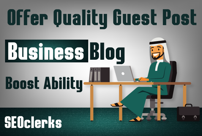 I will do guest post on my business blog