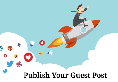 I will build 14 guest post in high Da Pa sites