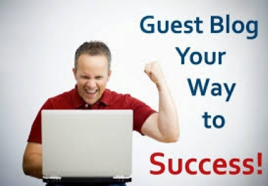Get rank in search engine with 10 guest post in high DA 80+ sites