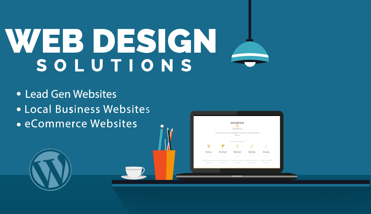 I will design and develop modern responsive websites with HTML CSS JavaScript and bootstrap