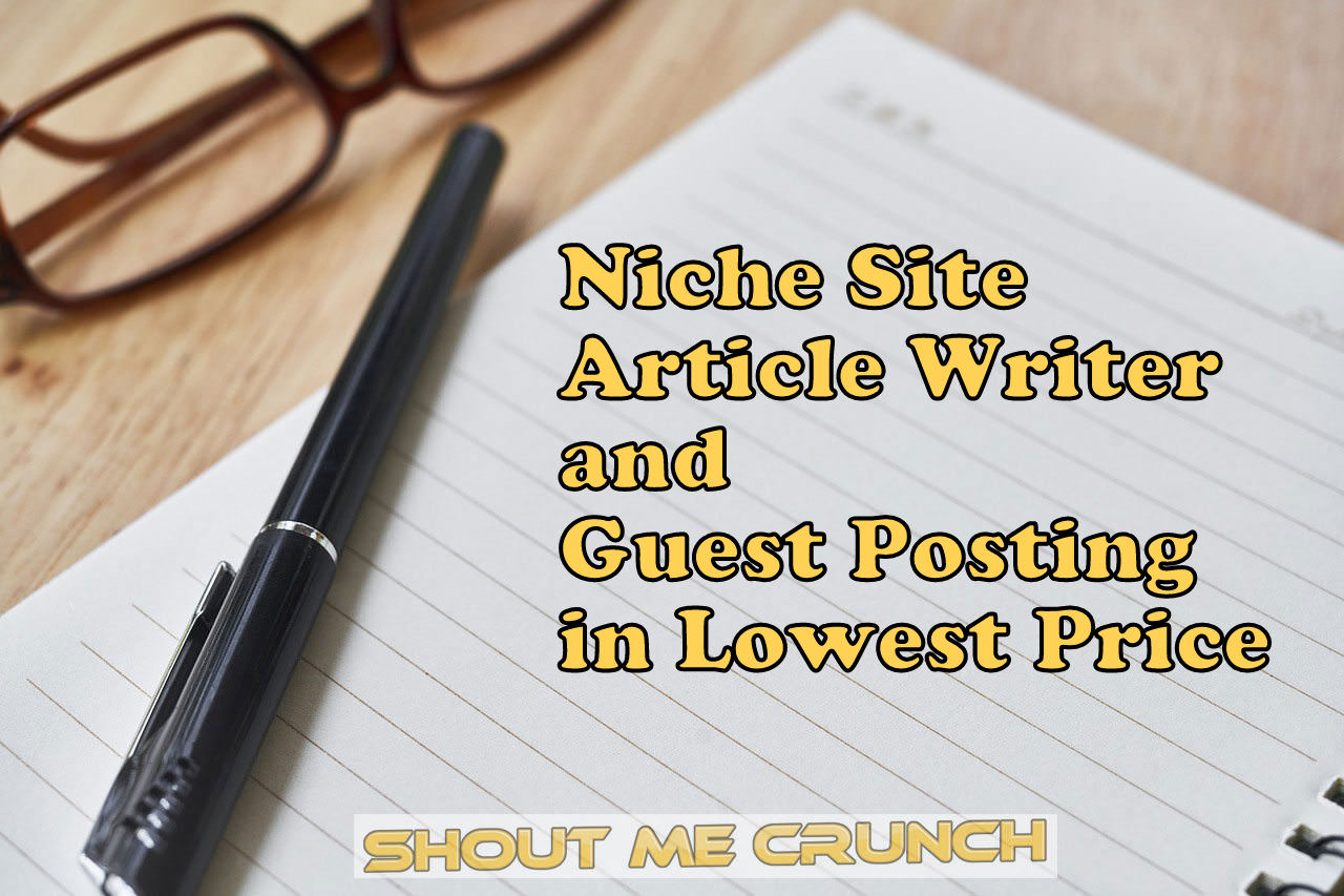 Write 500 words Unique article Writing,  content writing or blog post writing on any Niche