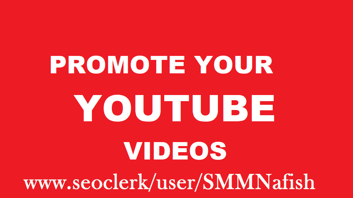 Get YouTube Promotion Very fast Non Drop & Safe