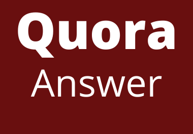 Promote your website by the 10 high quality Quora Answer
