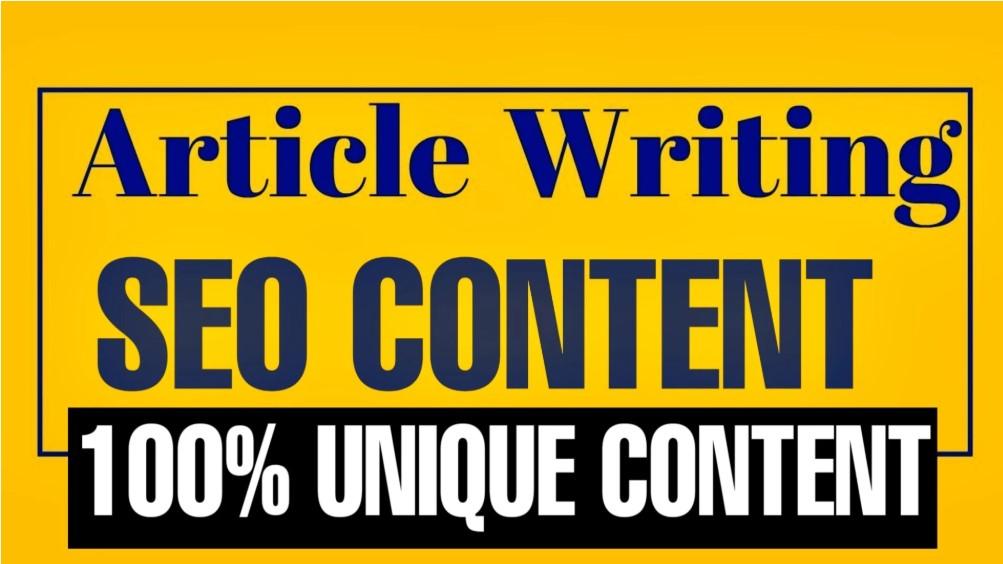 write unique content,article writing, blog post
