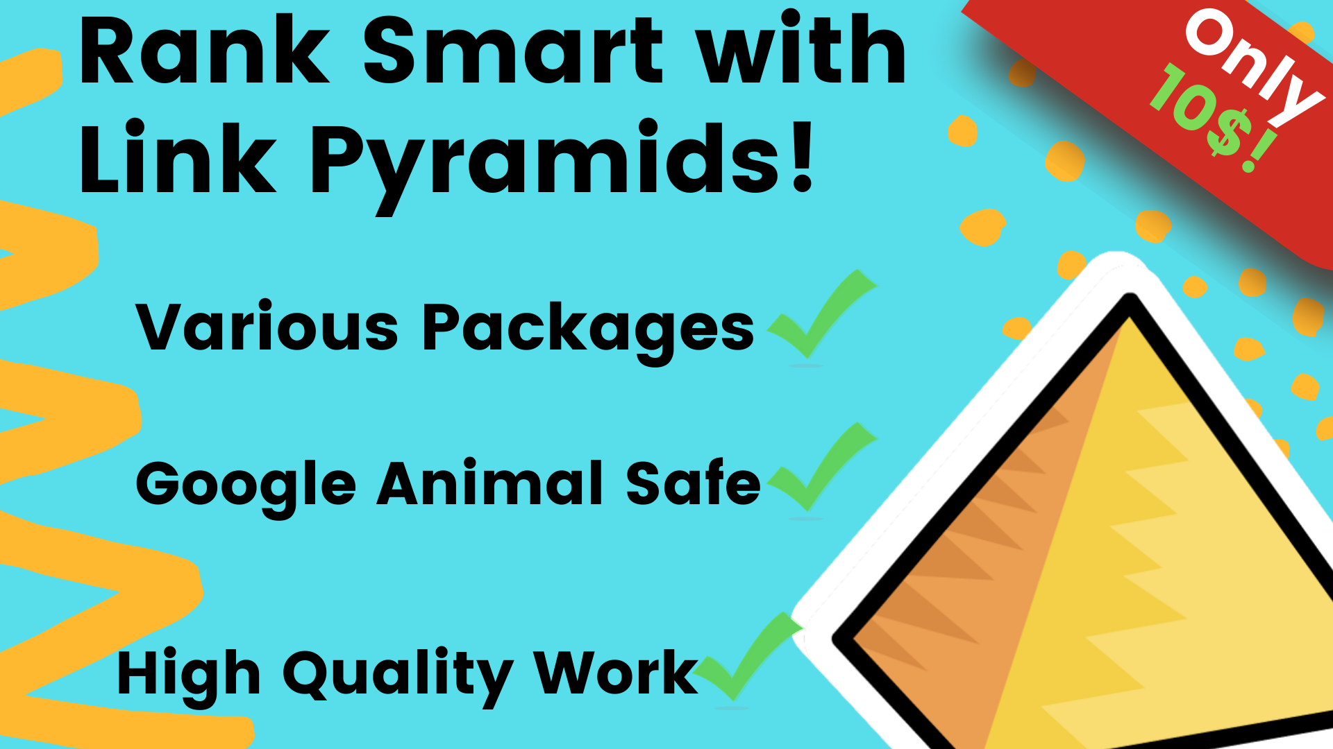 Rank your Website with LINK PYRAMIDS in 2019 TF15