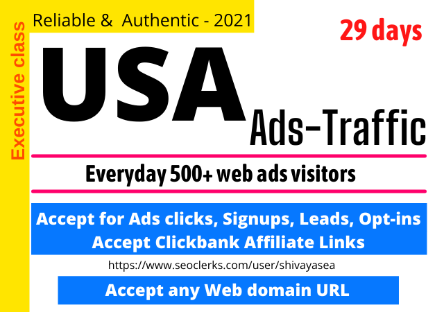 Get USA Targeted,  15,000 Visitors Web Traffic