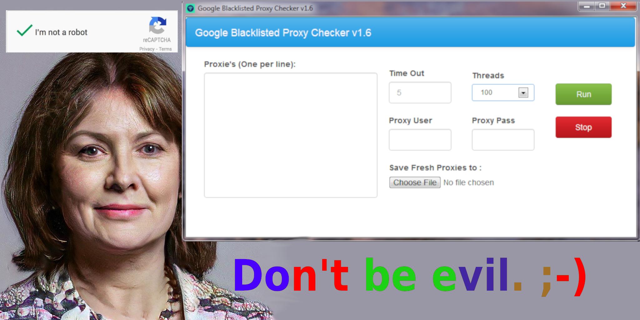 Google Blacklist Proxy Checker Bot