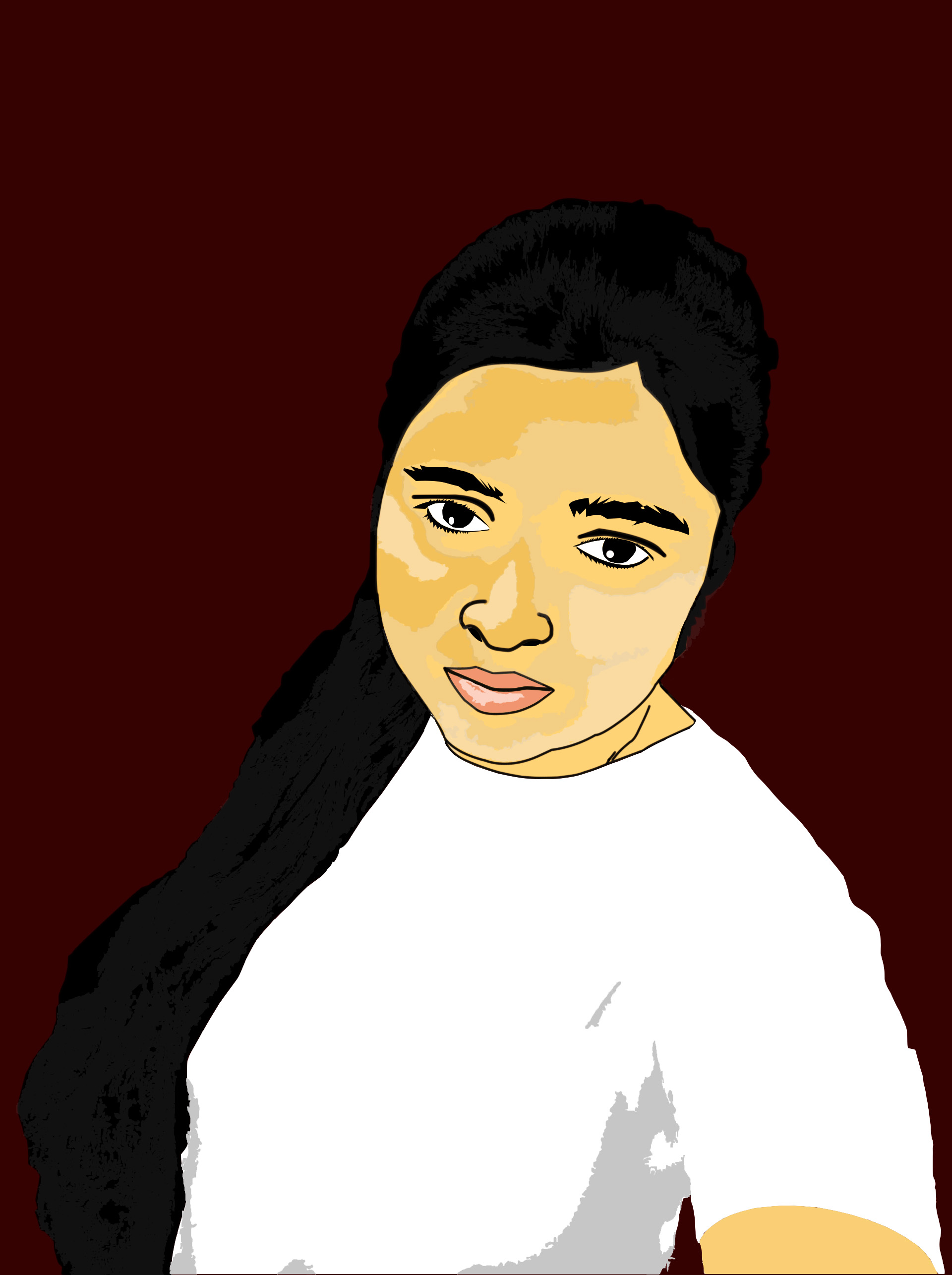 Draw a cartoon vector portrait From your photo