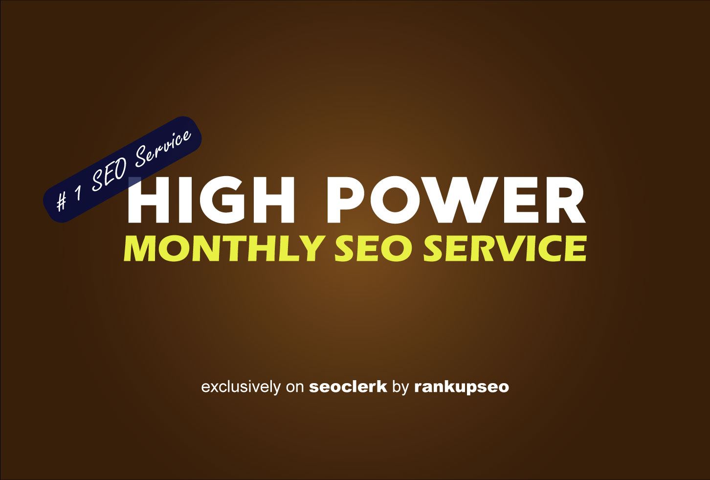 Whitehat HIGH POWER MONTHLY SEO SERVICE for Website Ranking
