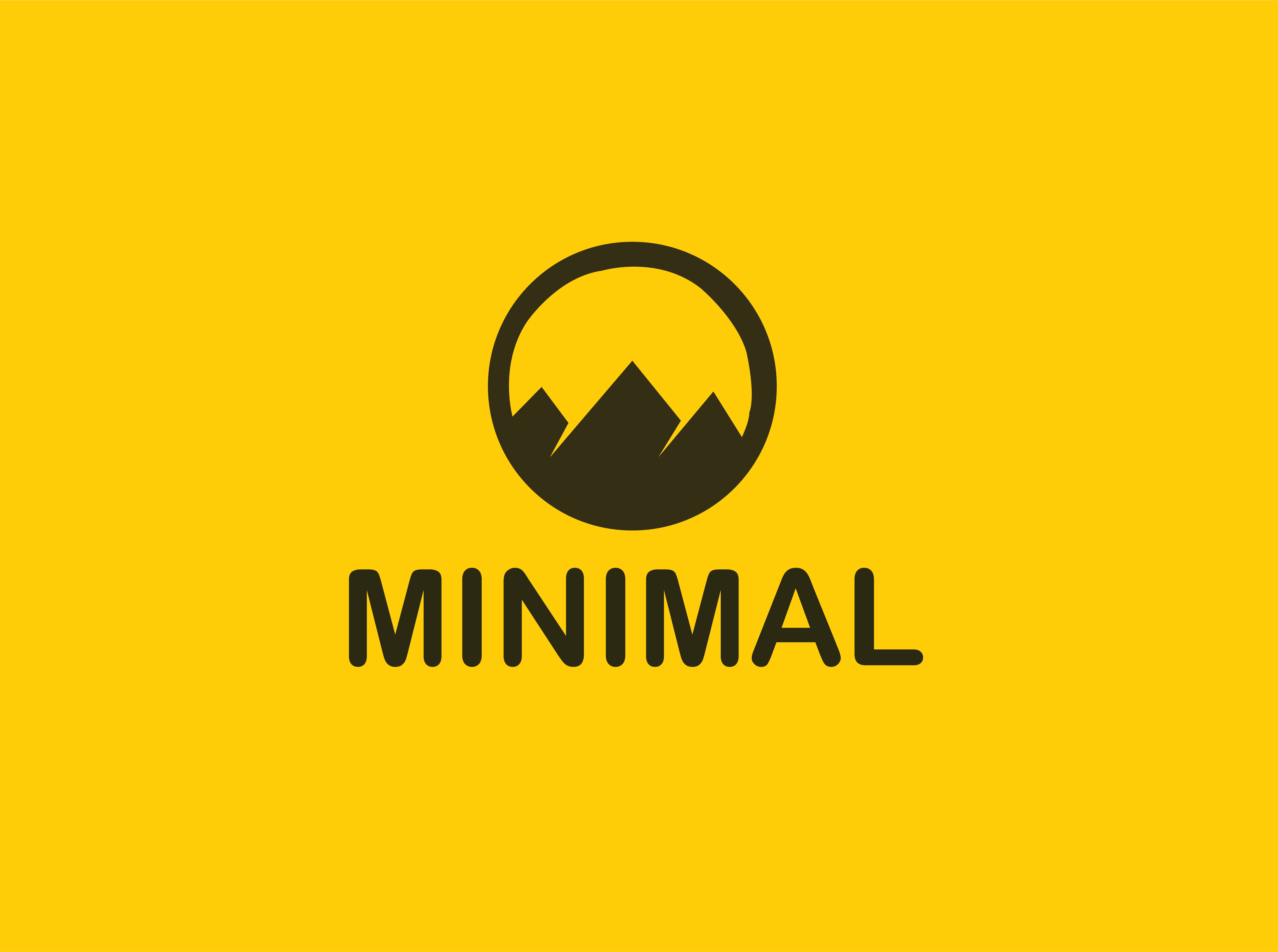 I will design 2 modern flat minimalist logo for you