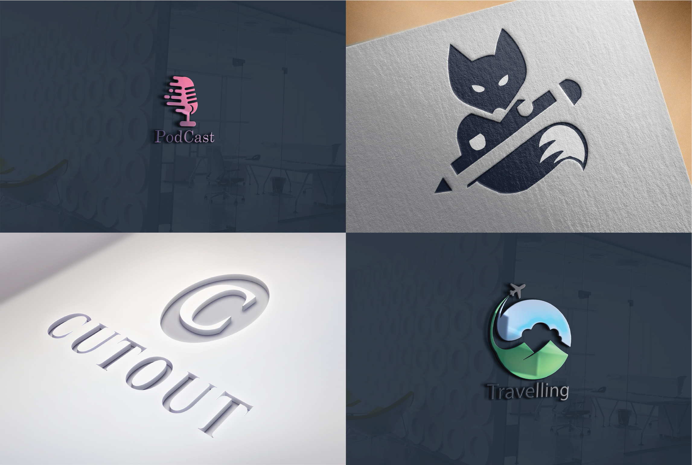 I will design unique clean and professional logo for you