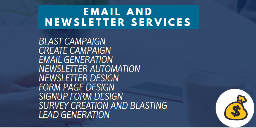 I will design a captivating email and converting newsletter for your business