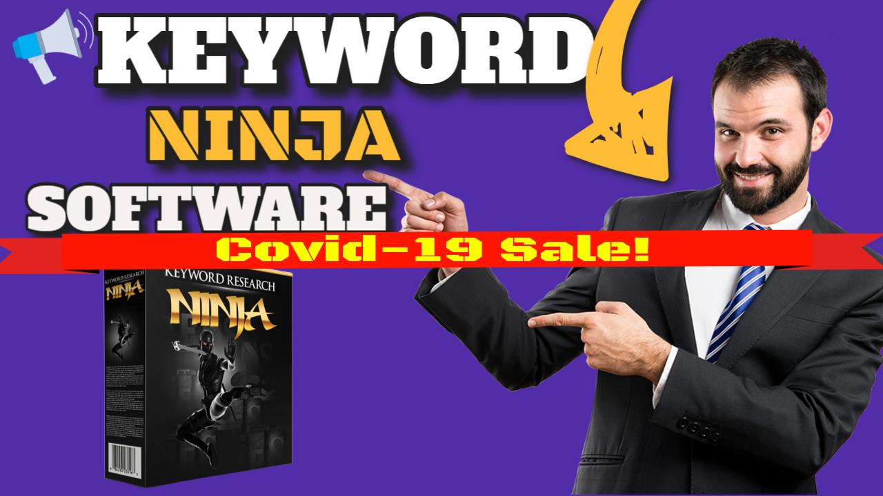 Keyword Ninja Software high searched keywords Covid-19 Sale
