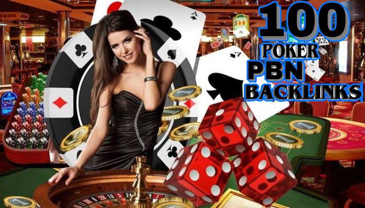 Top quality 100 CASINO/ Poker/Gambling web 2.0 PBN unique 100 sites