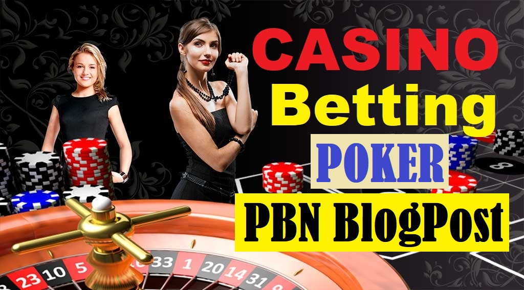 50 PBNs High DA Blog Post Casino/Gambling/Poker,  Related aged site & Google 1st page Ranking Booster