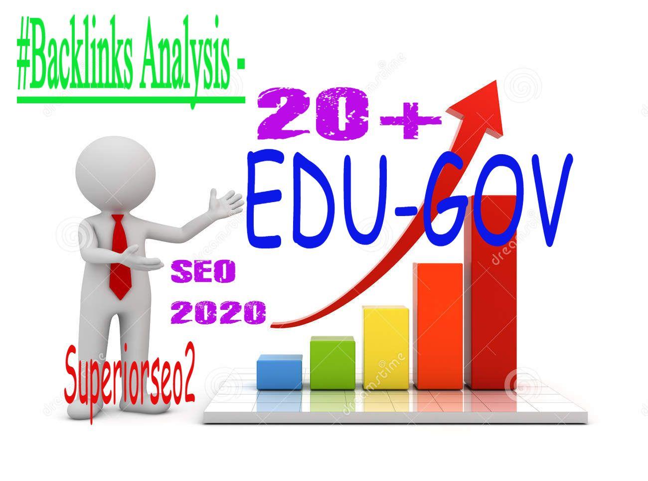 Build 21 US Based EDU. GOV Authority SEO Backlinks New Year 2020