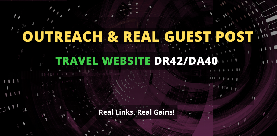 I will publish a guest post on 42 DR travel website