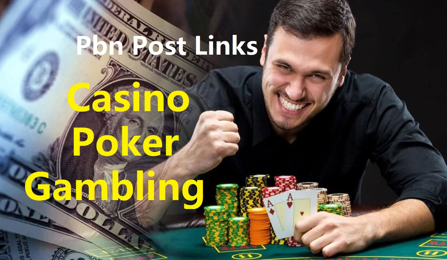 Build 200 Casino,  Poker,  Judi bola,  Gambling High-Quality DA/PA 20+ Homepage PBNs Post Backlinks
