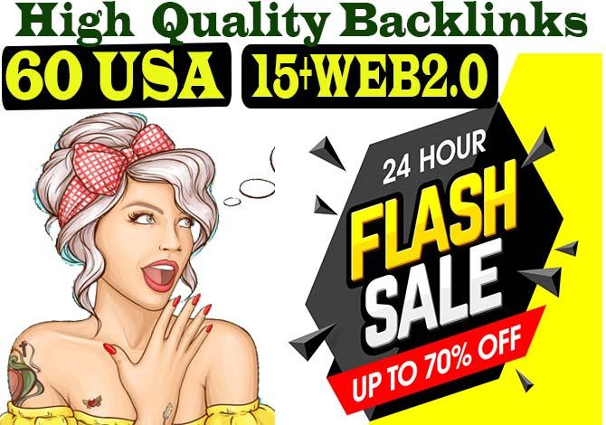 Manully Create 60 USA Dofollow Profile backlinks DA90 15 Super Buffer blog Backlinks