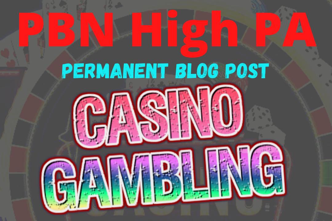 Skyrocket 50 PBN blog post Permanent Backlinks for Casino, Gambling, poker, betting sites Rank on