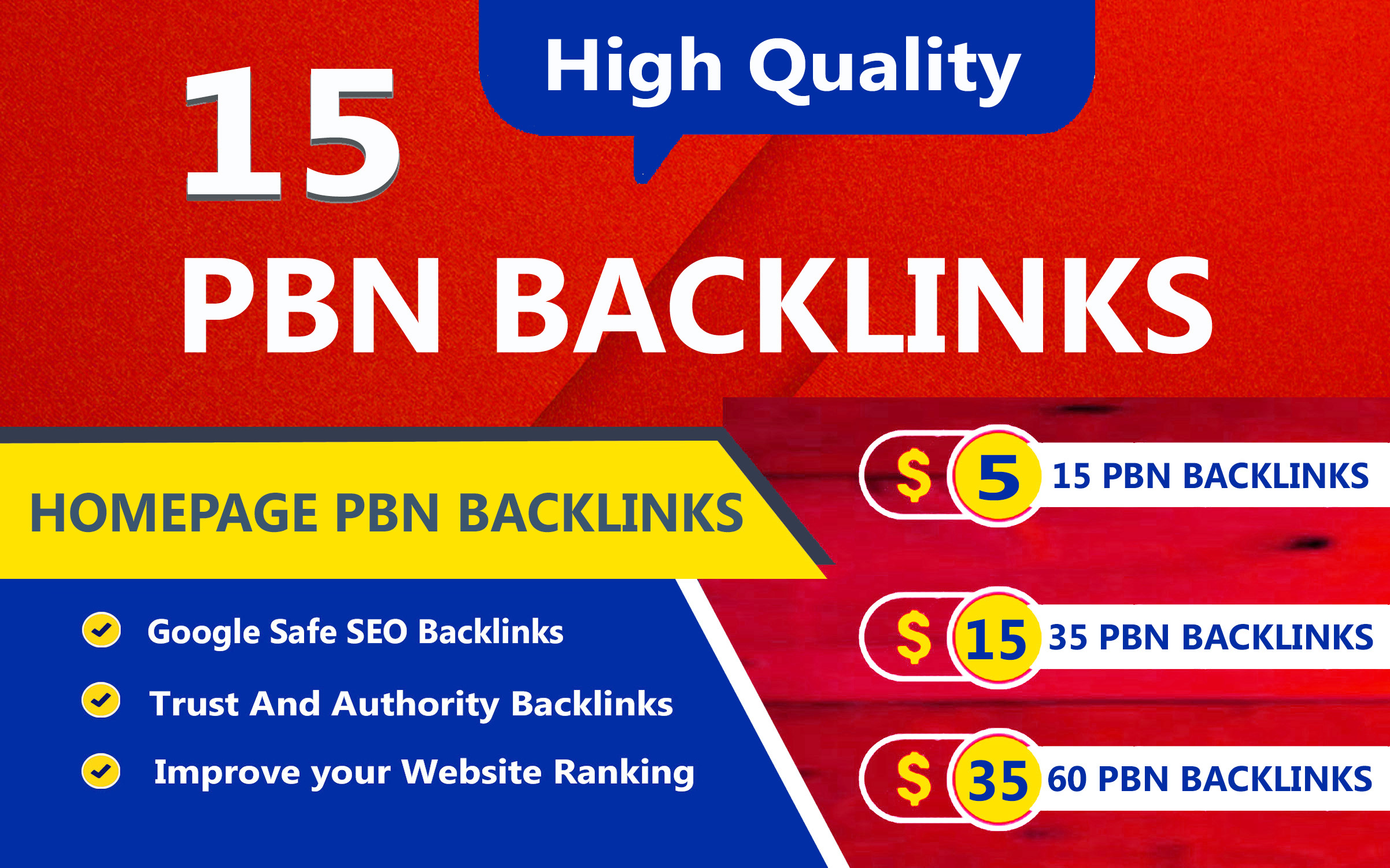 15 DR 50 to 60 High Quality pbn backlinks