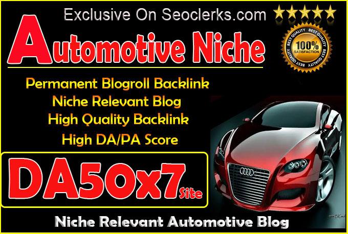 give link da50x7 site Automotive blogroll permanent