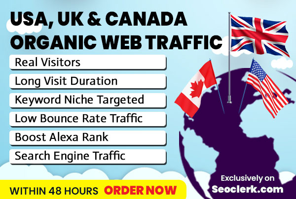drive country targeted,  organic search visitors
